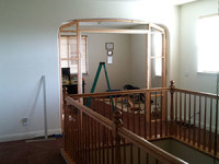 Framing-Out-Existing-Doorway (Stairway View)