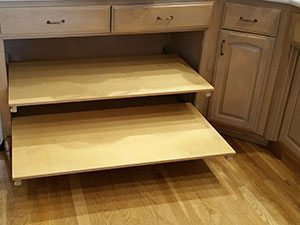 Slide Out Kitchen Shelving